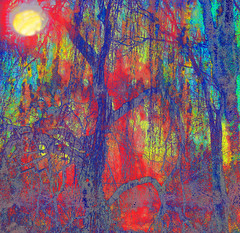 Fauvist Winter Willows at Dusk (virtually_supine) Tags: trees photomanipulation creative vivid m textures layers abstraction baretrees challenge willowtrees hss digitalartwork gtm fauvism width240 a bview height186 sliderssunday photoshopelements7and9 tmichallengeinthestyleoffauvism hrefhttpswwwflickrcomgroupsimpressionistsdiscuss72157661830080240img srchttpsfarm1staticflickrcom695229927544239fea8ab4e8mjpg altfauvismawarda hrefhttpswwwflickrcomgroupsimpressionistsdiscuss72157661830080240hereab