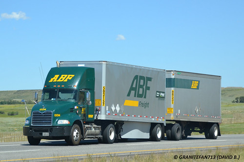 ABF Freight Mack Pinnacle with Doubles (WY)