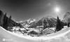 (Alain Bachellier) Tags: mountain snow france montagne alpes village hiver chalet neige paysage chamonix fr montets coldesmontets trélatête