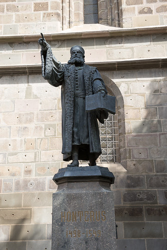 Statue of Johannes Honterus in Brasov ©  Andrey