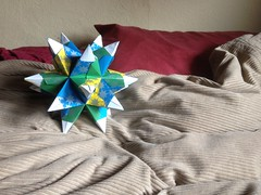 2016 seed of wishes (ideath) Tags: origami magic seed ritual wish dodecahedron imbolc