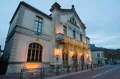 Théâtre, Villefranche-de-Rouergue, Aveyron, Midi-Pyrénées (lyli12) Tags: france nikon village lumière paysage soir urbain patrimoine aveyron midipyrénées d7000