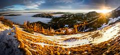 What A Light (Woidfeeee) Tags: winter light sunset sun mountain alps berg landscape austria sterreich outdoor colorfull steiermark hohe styria veitsch hoheveitsch