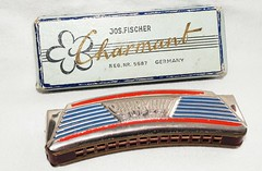 Jos Fischer Charmant Super harmonica (mouthorganman) Tags: blue red color colour vintage germany design colorful collection chrome german instrument artdeco deco luxe harmonica collector armonica enamel enameled gaita harmonika mouthorgan antiqueharmonica munspel gaitadeboca harmonicacollection munnharpa harmonicacollector armonicadeboca