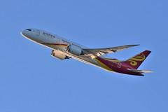 Hainan Airlines B787 (thokaty) Tags: shanghai boeing bos bostonloganairport 787 b787 pvg dreamliner hainanairlines b788 b7878 b2750