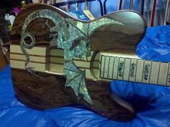 Tele Custom work in progress (1)os 1000 (Lox Pix) Tags: lox loxpix guitar collection bass mandolin fender gibson yamaha ibanez rickenbacker vintage beatle violin shape kent sleekline bowhunter trump squier stratocaster telecaster hofner loxwerx l0xpix