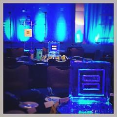 "@hrcaustin celebrating their #gala tonight @jwmarriottatx ""On the shoulders of giants"" with #logo #icesculpture centerpieces on every table! #hrcgalaatx #fullspectrumice #thinkoutsidetheblocks #brrriliant - Full Spectrum Ice Sculpture (fullspectrumice) Tags: sculpture ice austin logo table texas with every their tonight gala celebrating icesculpture sculpting centerpieces scupltures ontheshouldersofgiants hrcaustin fullspectrumice thinkoutsidetheblocks brrriliant jwmarriottatx hrcgalaatx"