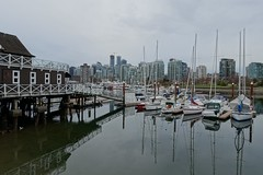 (Sean Munson) Tags: canada water vancouver boats britishcolumbia coalharbor vancouverrowingclub