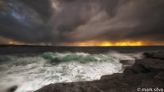its just a second of ruin (mark silva) Tags: ocean cloud storm sydney australia nsw cronulla kurnell yena kamaybotanybaynationalpark