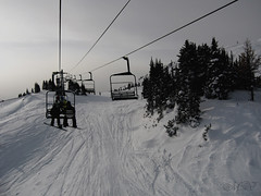 early morning HBM :-) (~ Mariana ~) Tags: winter friends sky cloud snow canada ski sunshine canon landscape alberta banff rockymountains mariana chairlift sunshinevillage hbm paololivornosfriends saariysqualitypictures outstandingromanianphotographers marculescueugendreamsoflightportal