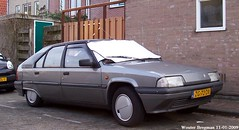 Citron BX 19 TZD 1991 (XBXG) Tags: auto old france holland classic netherlands car vintage french automobile diesel outdoor nederland citron voiture vehicle 1991 frankrijk 19 paysbas ancienne edam bx franaise citronbx tzd zg72dx