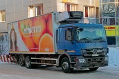 Mercedes-Benz Actros 2541   796  96 (RUS) (zauralec) Tags: auto street car coin company trading mercedesbenz 96 rus  koli   actros 2541 kurgan 796         myagotina