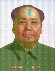 mao (bruno.ferrandis) Tags: china tibet mao chine sanginaire