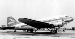 Chicago Midway Airport - Braniff Airways - DC-3 (twa1049g) Tags: chicago airport 1957 airways midway douglas dc3 braniff n34950