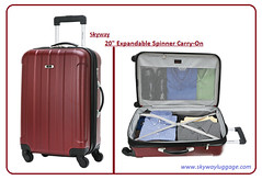 20 Expandable Spinner Carry-On (skyway luggage) Tags: carryon skywayluggage