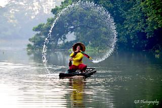 PLAYING WATER