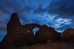 Turret in the Blue (ken.krach (kjkmep)) Tags: archesnationalpark turretarch