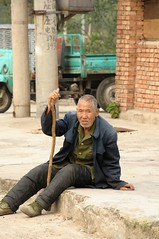 An old man in the village near Huairou (adamba100) Tags: life china road street city trip travel light boy portrait people woman mountain man color colour cute male men tourism lamp girl beautiful beauty face field female children landscape asian person star town canal kid interesting women asia pretty vietnamese cityscape child play view outdoor hill innocent sightseeing chinese decoration beijing lifestyle style charm korea headshot tourist vietnam sidewalk mongolia korean human thai innocence mountainside lantern gadget grassland pure channel pendant foothill purity mongolian