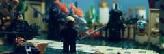 To Swim With The Fishes: Part 2 (Andrew Cookston) Tags: macro comics photography dc lego atlantis minifig dccomics custom aquaman blackmanta arthurcurry oceanmaster andrewcookston