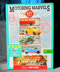 Kellogg's Corn Flakes Promotion Pack Motoring Marvels Of The Sixties Four Corgi Toys Die-Cast Models And Paper Models Of Shops And BP Filling Station 1990s - 2 Of 66 (Kelvin64) Tags: station promotion paper toys four corgi corn models pack shops and bp flakes kelloggs sixties 1990s filling diecast the motoring marvels of
