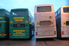 Redfern Travel WDL694Y & K860LMK (Will Swain) Tags: uk travel blue england bus english buses yard manchester is britain transport january johnson line vehicles solent vehicle depot former bros johnsons 24th woodhouse nottinghamshire stagecoach redfern mansfield 2016 694 15360 wdl694y k860lmk