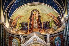 Mosaic (EEngler) Tags: church angel mosaic stlouis angels catholicchurch alter 2016 stcecilia d7100 cccfieldtrip