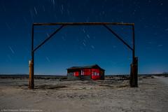 Rancho Desperdiciado (dejavue.us) Tags: california ranch longexposure nightphotography house lightpainting building abandoned nikon desert fullmoon mojave shack nikkor startrails mojavedesert d800 vle 180350mmf3545