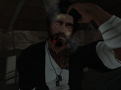 Mission Accomplished (The Phantom Caine) Tags: scorpion secondlife rp roe pmc mercenary aressecondliferegionjusticebluffsecondlifeparcelremnantsofearthroleplayinggame2131ceearthsecondlifex200secondlifey205secondlifez31