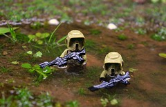 Swamplands (~J2J~) Tags: trooper water star lego outdoor scout camo swamp wars clone patrol minifigures kashyyyk brickforge