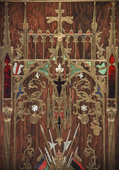 Wall cabinet, Munich, 1844 (Kotomi_) Tags: holland netherlands amsterdam museum neogothic rijksmuseum gothicrevival