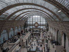 Muse d'Orsay, Paris (y.caradec) Tags: mars paris france art museum lumix march europe ledefrance time muse musee 16 foule monde temps iledefrance orsay heure musedorsay timechange 2016 gx7 changementdheure dmcgx7 lumixgx7 march2016 mars2016