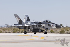 McDonnell Douglas F/A-18A 162846 (Newdawn images) Tags: plane airplane fighter aircraft aviation military nevada navy jet aeroplane hornet usnavy jetfighter mcdonnelldouglas unitedstatesnavy militaryjet fa18a canonef100400mmf4556lisusm nasfallon 162846 vfc12 canoneos5dmarkii af12