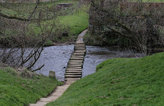 Stepping stones (P.P.P ( point - press - pray )) Tags: steppingstones northyorkshire riveresk lealholm