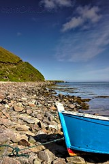 Rowing Boat at Gloup Voe #2 (Dickie Imaging) Tags: uk seascape scotland boat unitedkingdom shore yell shetland dickie gbr voe cullivoe westafirth gloup colindickie dickieimaging wastafirth