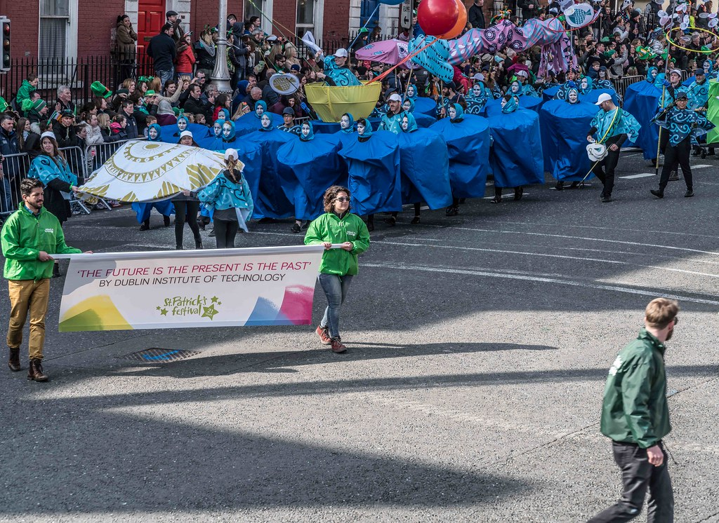 DIT - THE FUTURE IS PRESENT [ST.PATRICK'S DAY PARADE 2016]-112257