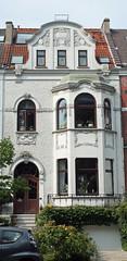 Bremen house. (radio53) Tags: house architecture germany movement crafts arts renee bremen edwardian mackintosh