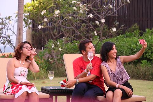 Penfolds Wine tasting at Luna La Pran Restaurant