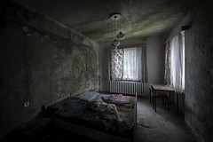 The Spore suite (Kriegaffe 9) Tags: window hotel beds mould