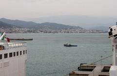Savona (demeeschter) Tags: sea italy port boats harbour corsica ferries vado ligure