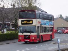 TM Travel 1130 Matlock (Guy Arab UF) Tags: travel dublin bus buses volvo derbyshire belfast tm 1130 1998 alexander rv matlock olympian wellglade oly50 wellgladegroup r32lhk rv390 98d20390