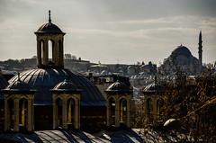 Rooftops (Melissa Maples) Tags: roof skyline turkey nikon asia trkiye istanbul mosque nikkor vr afs  18200mm  f3556g  18200mmf3556g d5100