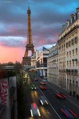 Paris (Julianoz Photographies) Tags: paris france monument architecture europe cityscape eiffeltower voiture toureiffel capitale immeubles villelumire nikond610 sigmaart50mmf14 julianozphotographies
