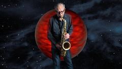 Mr Sax (pixelsnap) Tags: musician music toronto ontario canada photoshopped jazz sax saxophone theuniverse pixelsnap nasaimage