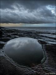 6H33 (Laurent Asselin) Tags: ocean sea sky mer clouds eau lumire ciel nuages paysage reflets kourou guyane