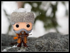 And the snow fell (Puffer Photography) Tags: stilllife nature toys utah pop actionfigures movies minifigs funko 2016 funkofantasy h8fuleight