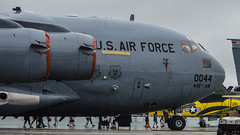 Boeing C-17A Globemaster III 97-0044 (astricker2) Tags: show plane airplane james airport day force lift aircraft air united iii wing jet cargo m international cox states boeing globemaster heavy usaf dayton aw airpower airlift kday 2015 c17a vectren 445th 970044 mlitiary