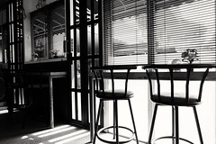 2016_0218_02592100 (AdityaNanda) Tags: bw bar table photography blackwhite cozy cafe chair drink fujifilm surabaya blackwhitephotography