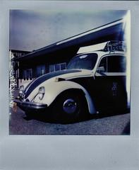 Peace Bug (R. Drozda) Tags: film alaska bug volkswagen peace beetle fairbanks polaroidsx70 drozda samsonshardware phillipsfieldroad