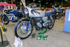 MCN Scottish Motorcycle Show 2016 - Velocette motorcycle (Sacha Alleyne) Tags: show classic vintage edinburgh motorbike moto motorcycle 2016 mcn motorcyclenews carolenash veloceltd a6000 royalhighlandcentre sonya6000