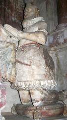 BEHEADED !! - Cambridgeshire, Haslingfield (jmc4 - Church Explorer) Tags: church stolen wendy cambridgeshire haslingfield effigy beheaded vandalized conisby
